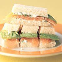 Recept - Zalm-sandwichrepen - Allerhande