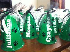 Personalized Megaphones Team Gifts Cheerleader by PunkieDoodles