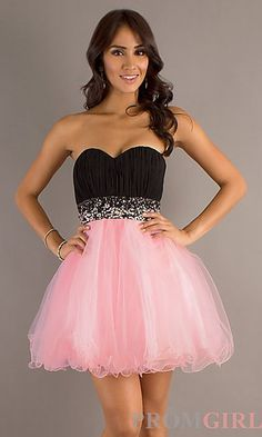 Strapless Dance Dresses