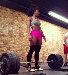 #fitspiration #fitblackwomen #strongisbeautiful blackfitness:  www.blackfitness.tumblr.com