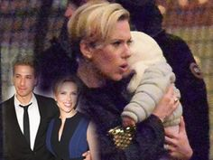 Scarlett Johansson makes first appearance with daughter