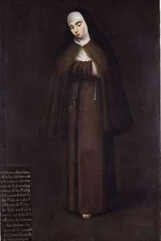 Anónimo, Retrato de sor  Martina María de Arizávalo y Veráztegui, convento de San Felipe de México, óleo sobre tela, 168 x 108 cm., posterior a 1727, colección: Museo Nacional del Virreinato-INAH, catalogación por Juan Carlos Cancino.