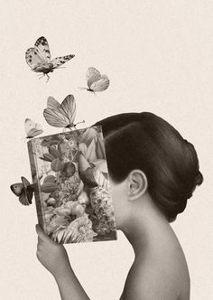 illustration announced winners awards palena world marco 2017 World Illustration Awards 2017 winners announced marco palenaWorld Illustration Awards 2017 winners announced marco palena Reading Art, Butterfly Art, Butterflies, I Love Books, Surreal Art, Book Photography, Belle Photo, Collage Art, Book Lovers
