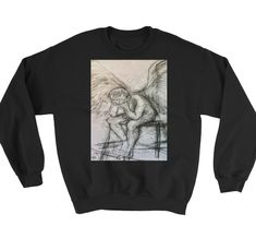 Buy unique print-on-demand products from independent artists worldwide or sell your own designs at the drop of an image! Online Printing, Graphic Sweatshirt, Sweatshirts, How To Make, Stuff To Buy, Fashion, Moda, Fashion Styles, Trainers