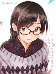 Girls Characters, Manga Characters, Blushing Anime, Anime Girl Brown Hair, Fanart, Beautiful Anime Girl, Female Anime, Kawaii Anime Girl, Cute Anime Character