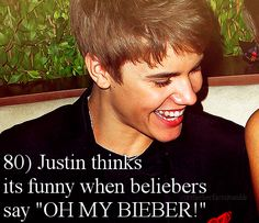 Well then I'll do this around him sometime just to see and hear him laugh