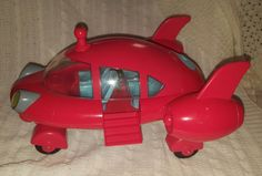Pat Pat Rocket 2006 Red Singing Mattel Spaceship Lights & Sounds LittleEinstein #Mattel