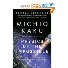 Kaku delivers an approachable volume on where science can take us in the short term and an in the far flung future.