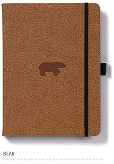 Dingbats* Wildlife Brown Bear Notebook - Dingbats* Notebooks USA