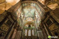 The 19 Most Stunning Sacred Places Around the World - Basilica of San Vitale, Italy