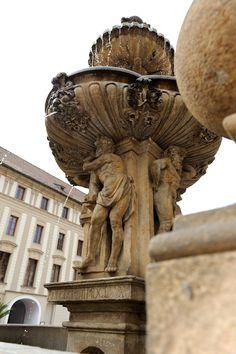 Czech Republic, Prague, fountain Prague Czech, Eastern Europe, Bulgaria, Czech Republic, Hungary, Romania, Statues, Poland, Fountain