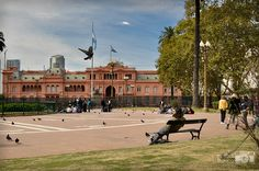 Buenos Aires - Plaza de Mayo - Casa Rosada #travel #Photography #argentina