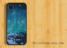 Snow Mountain -  iPhone 5 Case iPhone 4 Case iPhone 4s Case Hard Plastic Case Rubber Case. $15.99, via Etsy.