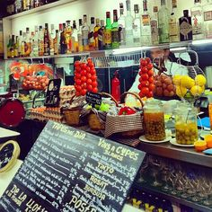Tapas 24, Barcelona - I LOVE everything here, especially the chicken croquettas!
