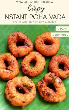 Aval Vadai is an easy and crispy vadai which can be made instantly without the urud dal. It is so crispy and tasty, that, you will fall in love with its taste. Snacks Recipes, Quick Snacks, Quick Recipes, My Recipes, Favorite Recipes, Indian Snacks, Indian Food Recipes, Deep Fried Recipes, Vegetarian Platter