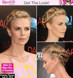 Charlize Theron looked trendy and chic at the Los Angeles, Calif. premiere for her new film 'Dark Places' on July 21. Get her exact hairstyle below!
