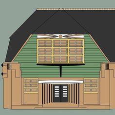 Illustratie Rietendakschool Utrecht Utrecht, Outdoor Gear, Tent, Studio, Store, Tents, Studios
