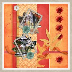 Fall Fresh by Nibble Scribbles @ Digital Scrapbook Studio – TRADITIONAL STYLE LOA ROUND 1 CHALLENGE- The LO has two photos (using the blue leaf – leaf 2png - element from this mini kit I made a clipping mask for my photographs) All elements and papers come from this mini kit which can be found here...... https://www.digitalscrapbookingstudio.com/digital-art/kits/fall-fresh-mini-by-nibbles-skribbles/
