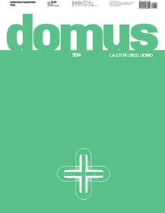 Domus. Nº 994. Settembre 2015. Sumario: http://www.domusweb.it/en/issues/2015/994.html Na biblioteca: http://kmelot.biblioteca.udc.es/record=b1179785~S1*gag