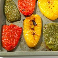 gemuese kochen Paprikaschale enfernen so einfach gehts