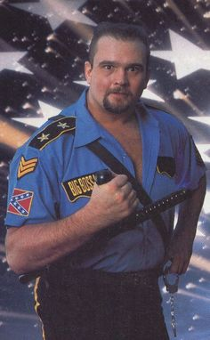 Big Boss Man - I have this card! Wwf Superstars, Wrestling Superstars, Watch Wrestling, Wrestling Stars, Big Guys, Big Men, Big Boss Man, Best Wrestlers, Professional Wrestling
