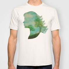Remember Blue Skies T-shirt by Eric Fan - $22.00