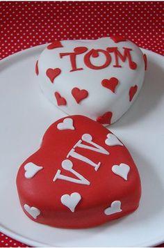 Aww cakes for your boyfriend!