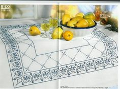 un solo color Cross Stitch Kitchen, Cross Stitch Books, Cross Stitch Borders, Cross Stitch Patterns, Blackwork, Cross Stitch Embroidery, Hand Embroidery, Swedish Weaving, Origami Butterfly