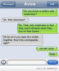 hahah.