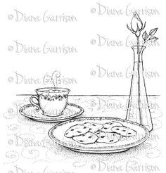 Cookies for a Friend Digi Digital Stamp