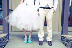 Chic Mode - Custom mid-length SEWN tulle skirt - half poof - bride or bridesmaid tutu - your choice of colors and length