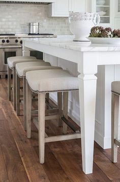 Lovely kitchen stools.