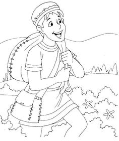prodigal son coloring page | parable of prodigal son-the lost son ...