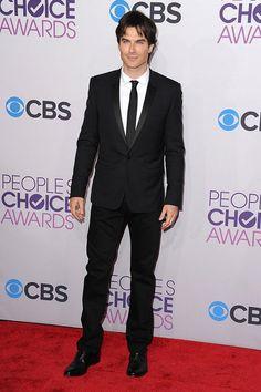 Ian Somerhalder in a suit. Ian Somerhalder. In. A. Suit.