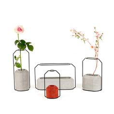 C Weight Vase Raw