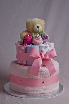 Forever Friends Nappy Diaper Cake