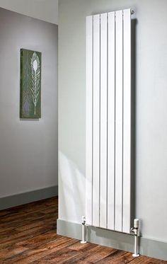 The Radiator Company Picchio Double Vertical Designer Radiator in White