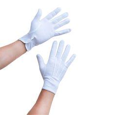 Herren Handschuhe Pantomime Butler Kostüm - weiß in Bekleidung Accessoire  • Handschuhe