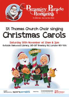 Bramley Bonanza St Thomas Church, Cancer Support, Nightingale, Christmas Carol, Choir, Singing, Life, Greek Chorus, Christmas Music
