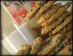 Chocolate Chip Cookies - gluten-free, dairy-free, egg-free