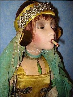 Boudoir  Smoker Doll