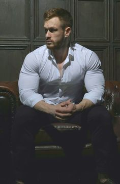 Men in shirts Hot Ginger Men, Costume Sexy, Business Shirts, Business Men, Pose Reference Photo, Well Dressed Men, Attractive Men, Muscle Men, Male Beauty