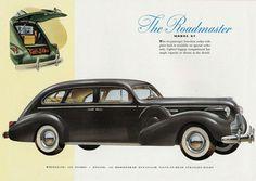 Buick Roadmaster 141 HP Model 87 1939 - Mad Men Art: The Vintage Advertisement Art Collection Art Vintage, Vintage Ads, Vintage Posters, Buick Sedan, Buick Roadmaster, Car Illustration, Mad Men, Vintage Advertisements, Custom Cars