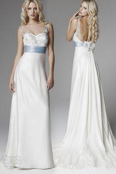 Harsuccthing Bridal Gown — BLUMARINE 2013 WEDDING DRESS, BLUE SEDUCTION