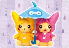 """3rd """"monthly Pikachu pairs"""" released by Pokemon Center"""