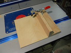 Tenon Sled - CLICK TO ENLARGE