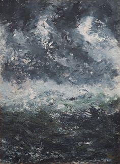 august strindberg / storm landscape