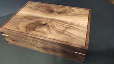 Walnut Tea BoxHandmade Tea Boxstorage tea box Chest Tea Bag   Etsy Coffee Table Upcycle, Wooden Tea Box, Tea Varieties, Magnetic Knife Holder, Box With Lid, Wood Boxes, Wood Veneer, Walnut Wood, Keepsake Boxes