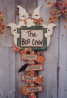 Decorative Woodcraft & Tole Painting Pattern Packets by Heidi Markish Designs - Heidi Markish Designs - Heidi Diy Halloween, Primer Halloween, Halloween Wood Crafts, Homemade Halloween Decorations, Adornos Halloween, Manualidades Halloween, Halloween Signs, Holidays Halloween, Fall Crafts