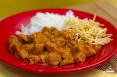 estrogonofe de carne de soja